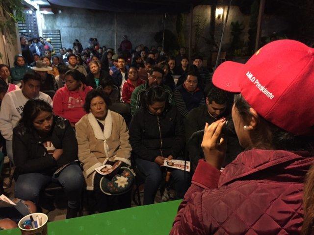 Uno de los reclamos de los chiautempenses es mejorar la seguridad: María Félix