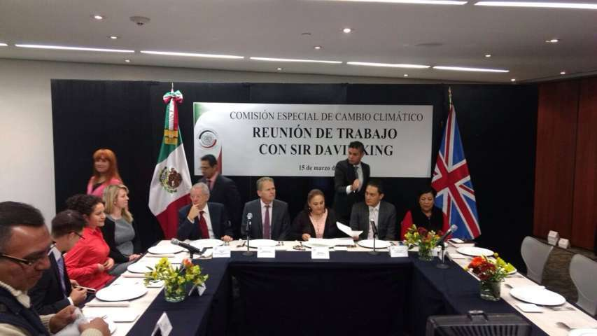 Trabaja Martha Palafox en agenda de Cambio Climático y Salud