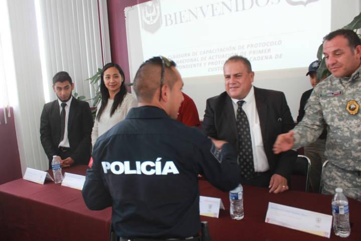 Prioridad de mi gobierno contar con una policía capacitada: alcalde