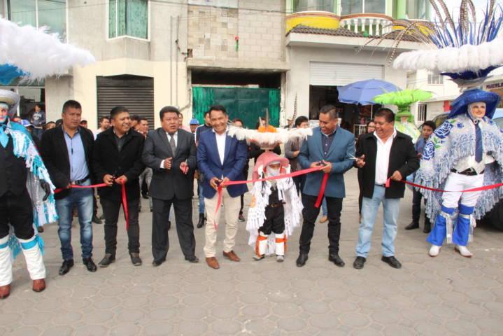 Pérez Rojas puso en marcha el Carnaval Quilehtla 2018