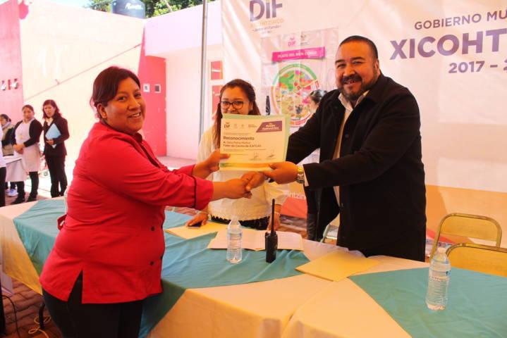 El SMDIF de Xicohtzinco celebró el Día Mundial de la Alimentación