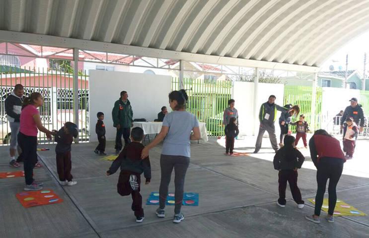 Participan docentes en Concurso Nacional de Sesión de Educación Física en Hidalgo