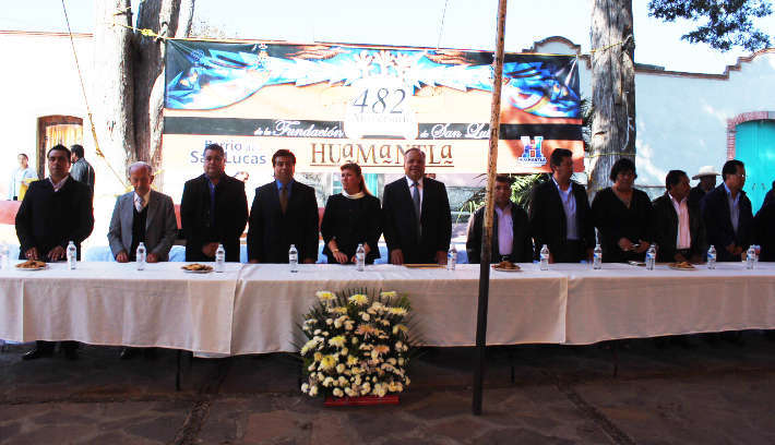 Conmemoran 482 Aniversario de la Fundación de Huamantla