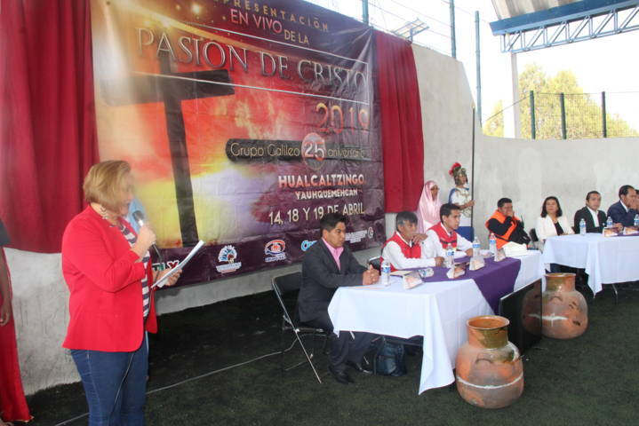 La Pasión de Cristo de Hualcaltzingo es una de las más representativa del estado: SMCH