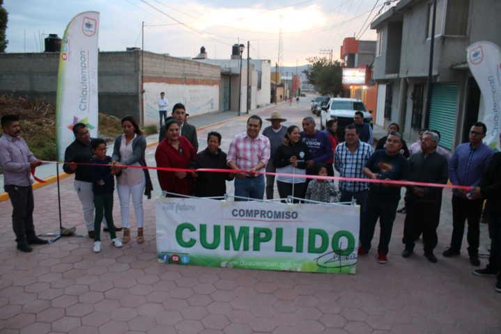Lo prometimos en campaña y le cumplimos a Tlapacoya; Héctor Domínguez
