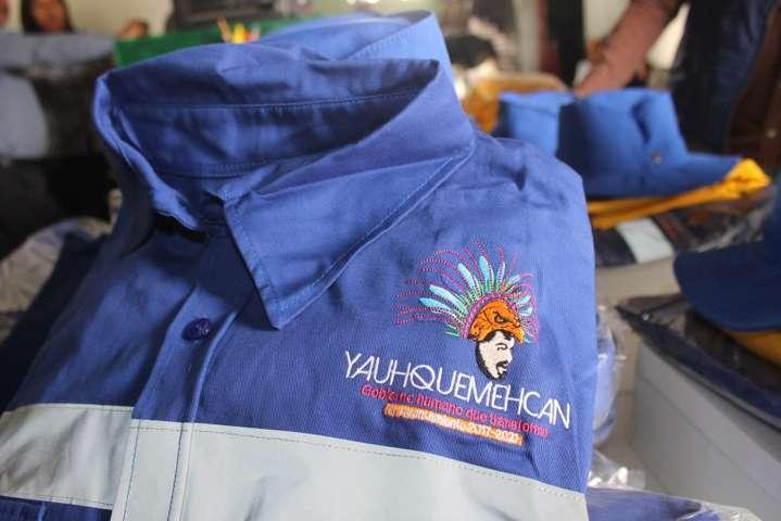 Alcalde mejora la imagen a Servicios Municipales con uniformes