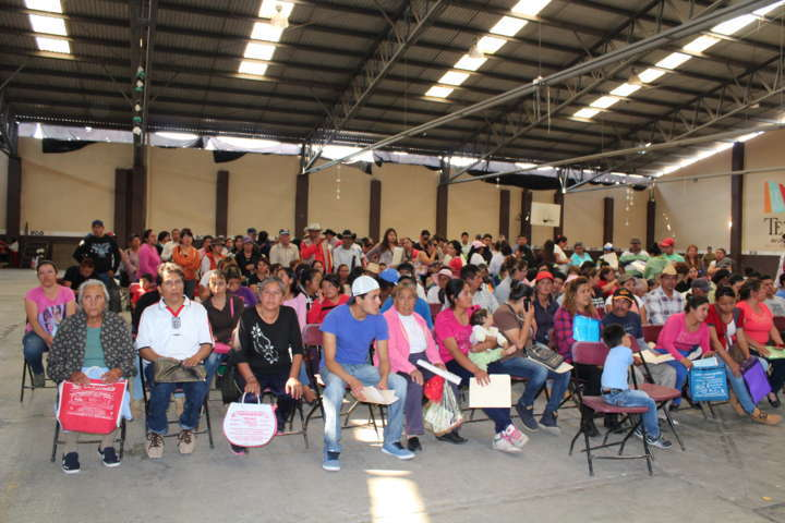 Se emite el programa por una vivienda e infrestructura social básica en Tetla