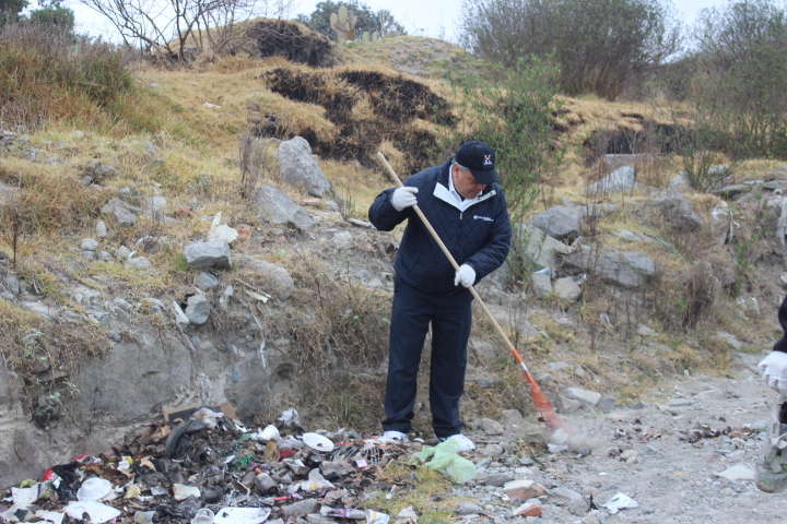 Recolectan en Huamantla 245 toneladas de residuos en 61 jornadas de limpia
