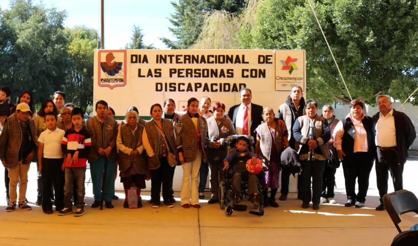 DIF de Chiautempan conmemora Día Internacional de las Personas con Discapacidad