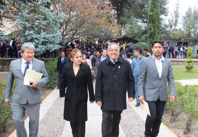 Con acciones contundentes apoya Ayuntamiento de Huamantla a CBTIS 61