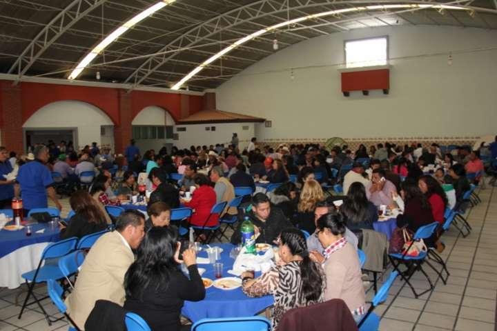 Conmemoran en Calpulalpan Día del Empleado Municipal