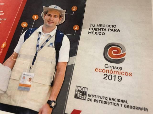 Se realiza Censo Económico INEGI en Zacatelco