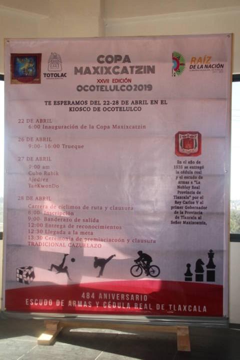 La Copa Maxixcatzin en edición XXVII llega este 22 de abril: alcalde