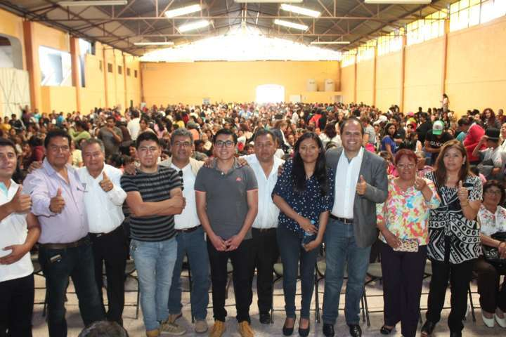 Rotundo  homenaje a las madres por su Día en Santa Cruz Tlaxcala