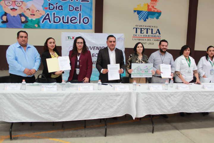 Esta firma de convenio apoyara a las mujeres embarazadas con trasporte: alcalde