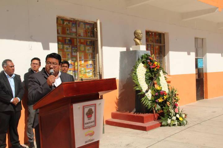 Alcalde encabeza LXX aniversario luctuoso Mauro Angulo Hernández