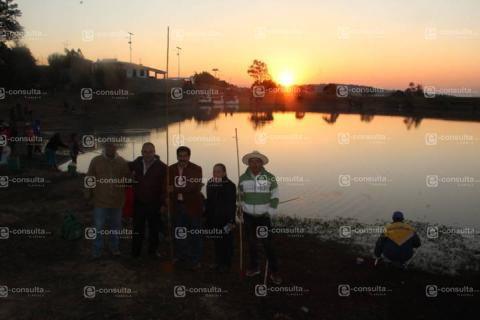 Alcalde fomenta la pesca en la 3er Gran Feria Anual de la Carpa 2019