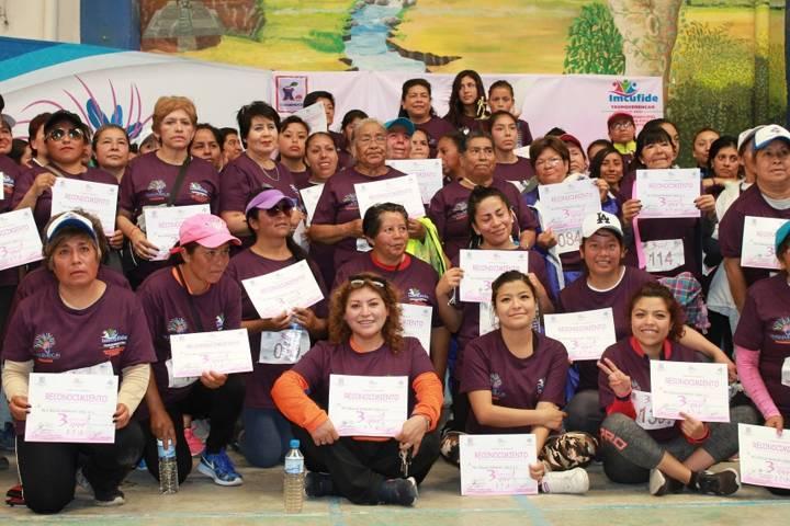 Ayuntamiento conmemora el Día internacional de la Mujer con una carrera