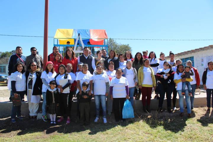 Se realizó en Plan de Ayala, Tetla certificación de comunidad promotora de la salud