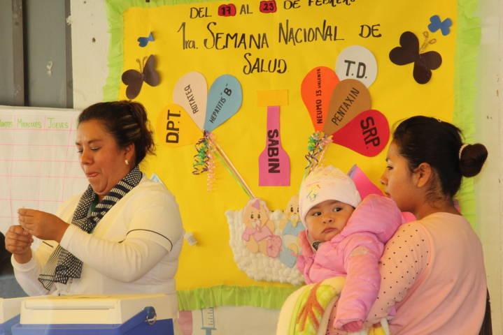 Ayuntamiento y SMDIF se suman a la 1er semana nacional de vacunación