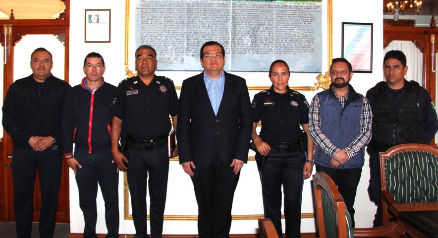Alcalde encabeza reunión de seguridad en Ciudad Industrial Xicohtencatl II