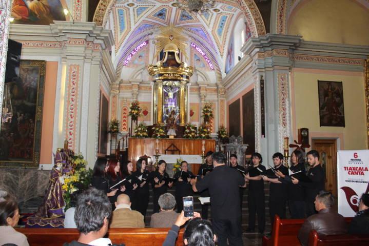El  festival internacional Tlaxcala Canta llegó a Xicohtzinco