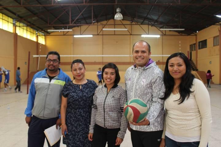 Santa Cruz Tlaxcala albergará liga independiente de volibol