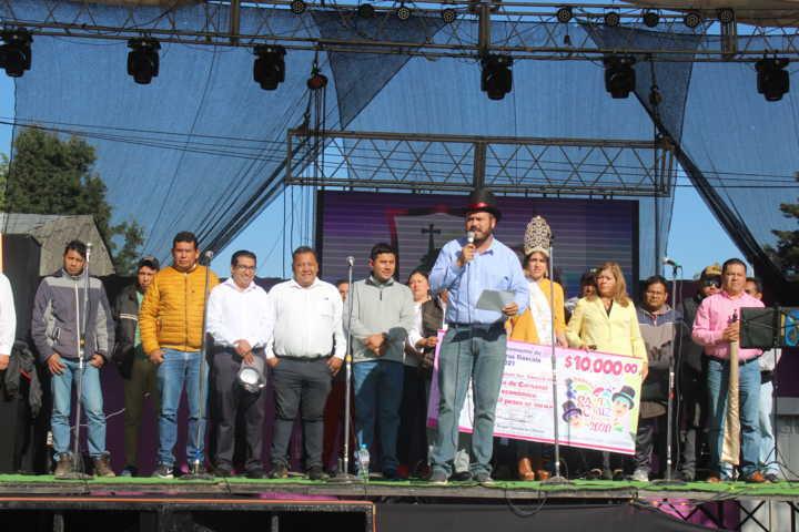 Inicia el Carnaval De Santa Cruz Tlaxcala 2020