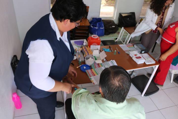 Realiza SMDIF Chiautempan Jornada De Salud Para Adultos Mayores