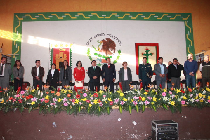 Alcalde de Xiloxoxtla rinde su informe ante la ciudadanía