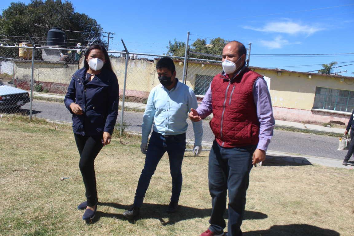 Bajo medidas sanitarias el programa comedor comunitario acude a San Miguel Contla