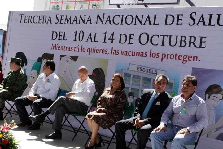 Inicia en Ixtacuixtla Tercera Semana Nacional de Salud