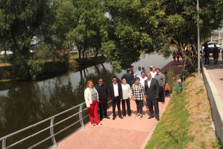 El nuevo andador de la presa traerá desarrollo a la comuna y progreso a la gente: alcalde