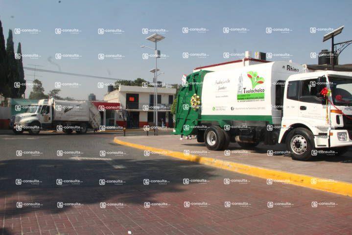 Después de 10 años tenemos un nuevo camión recolector de basura: alcalde