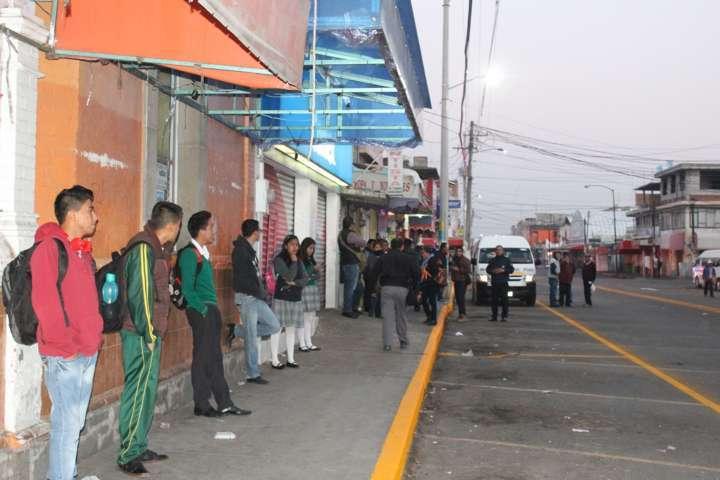 Modifican ascenso y descenso en rutas de transporte colectivo en Apizaco