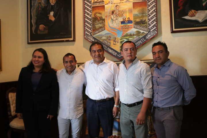 Junta patriótica de las fiestas patrias de Chiautempan rinde protesta