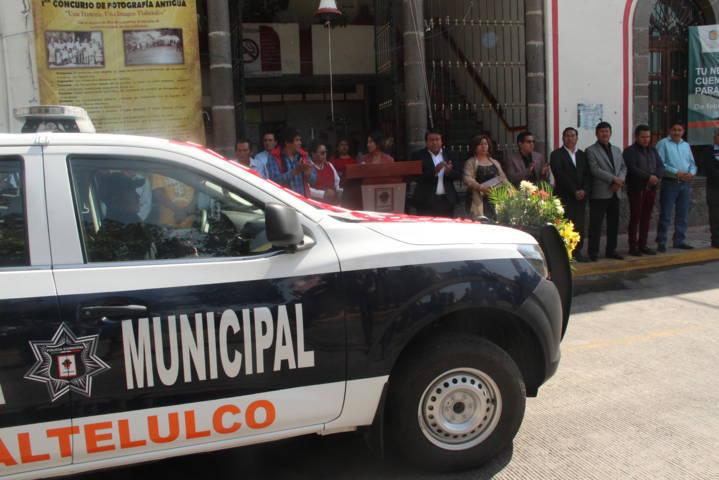 Una policía con las herramientas necesarias brinda mayor seguridad: alcalde