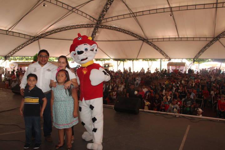 En esta 1er Feria Familiar promovimos la sana convivencia: Pérez Briones