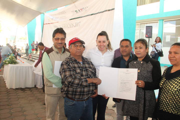 Acercamos los servicios básicos a los grupos vulnerables: Patricia Pérez