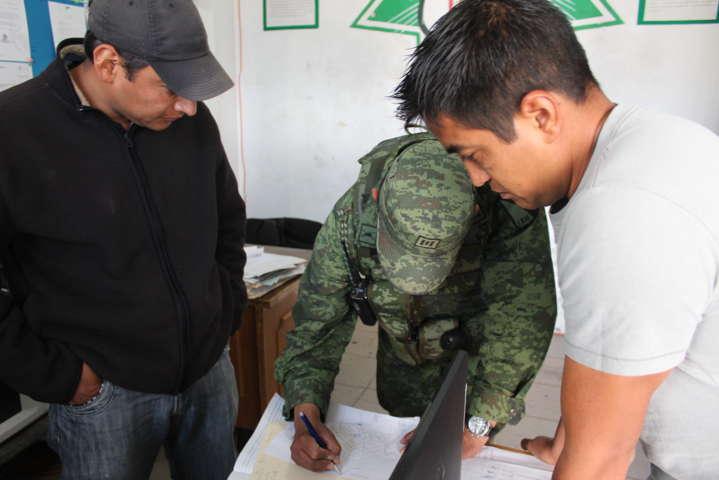 Fortalecemos la seguridad con el ejército y la policía estatal: alcalde