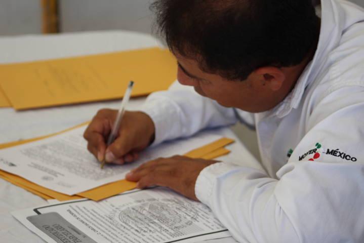 Se lleva a cabo campaña de depósito testamento agrario