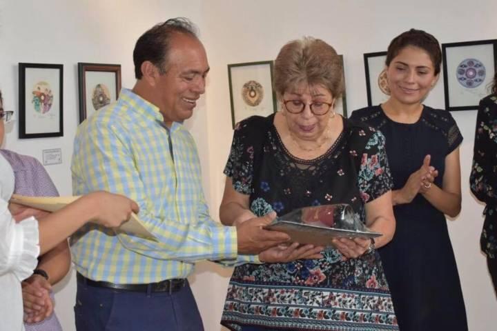 Carolina O´Farril expone 75 obras en la Galería de Arte de Zacatelco