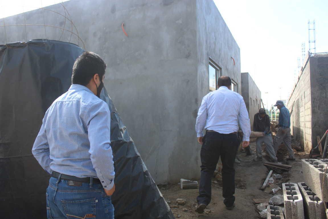 Con 85 por ciento de avance en la construcción de la Casa del Abuelo en Santa Cruz Tlaxcala