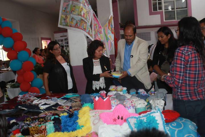 Misiones Culturales 214 finalizan curso en Santa cruz Tlaxcala con una exposición