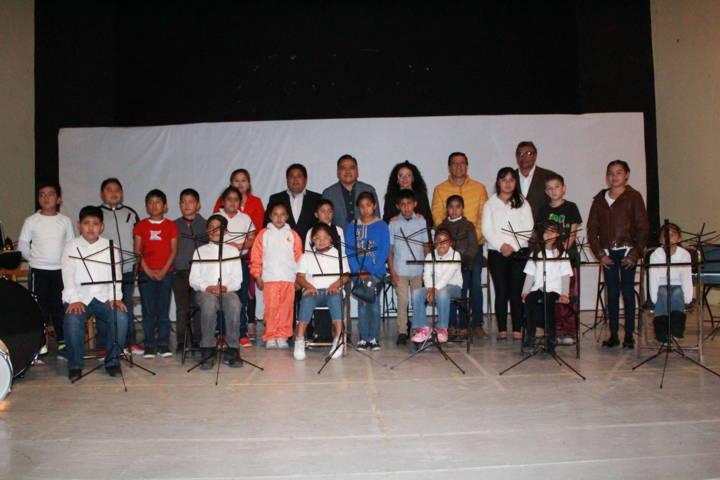 Se apertura banda sinfónica Juvenil en Tetla de la Solidaridad