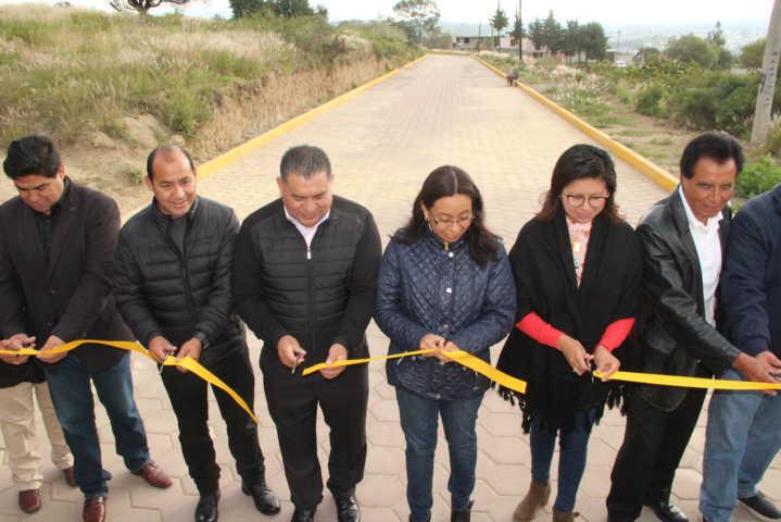 El Camino al Cielo de Belén ahora cuenta con más de 900 m2 de pavimento: alcalde