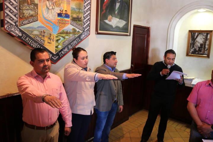 Toma protesta Domínguez Rugerio al Comité de Carnaval 2018