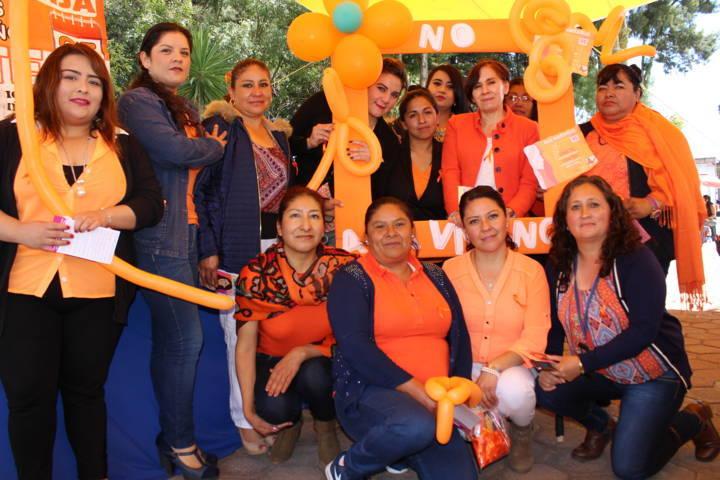 Se conmemoró el día internacional de la eliminación de la violencia contra mujeres y niñas en Tetla