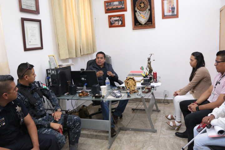 Coordina FGR actividades en materia de prevención del delito