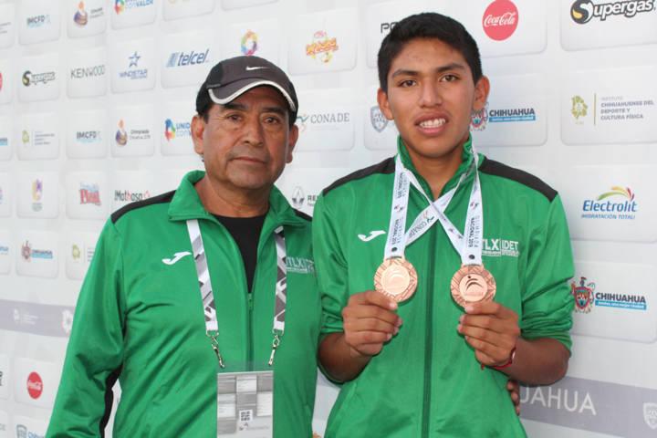 Cierra con medalla de bronce Ricardo Reyes en los 800 metros de Olimpiada Nacional 2019
